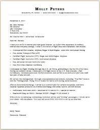Pilot Cover Letter Sample Monster Com
