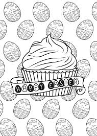 Small Picture Easter egg and cupcake by allan Easter Coloring pages for