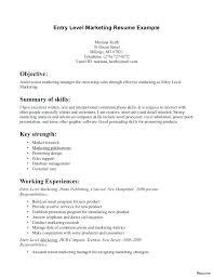 Resumes Objective Entry Level Customer Service Resume Objective Gordame11 Info
