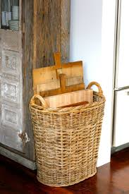 42 best Baskets images on Pinterest | Rattan basket, Brittany and Bags