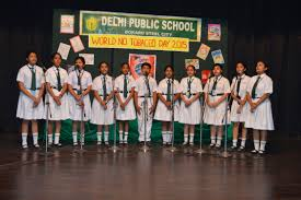 welcome to delhi public school bokaro steel city a jingle song was prepared and sung by our young singers of classes vi vii on saying no to tobacco result satwik aman s essay was selected and awarded