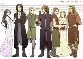 This Is Inaccurate Legolas Was Supposed To Be The Tallest