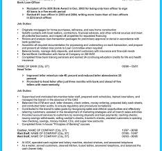 Free Resume Bank Resume Template Objective Statement For Teller Bank Cover Letter 75