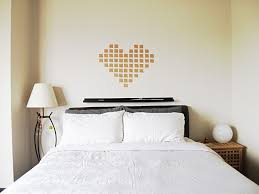 Quirky Bedroom Howsanne Handmade Crochet Diy Simple Heart Art On Wall 3 Easy Steps