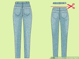 Make Pants 4 Ways To Make Your Jeans Tighter Wikihow
