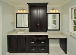 dark light bathroom light fixtures modern. beautiful bathroom vanitywithmakeupareabathroomcontemporarywithdarkwooddiamondtiles   beeyoutifullifecom and dark light bathroom fixtures modern