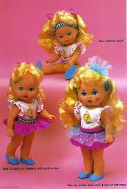 i knew i had two little miss dolls triple change lil miss makeup
