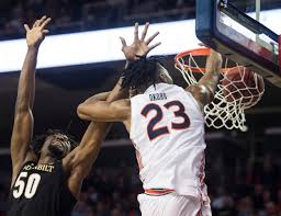 See Auburn's Isaac Okoro dunk on 6-foot ...