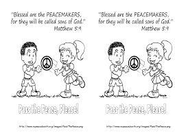 Fruit Of The Spirit Peace Coloring Page Coloring Pages