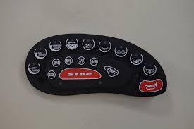 Timer 4 Min Keypad 4 Min Rear 9 Min Belly Timer Blue Led