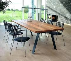 large solid wood dining table long modern dining table impressive modern long dining table solid wood