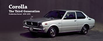 Toyota Global Site | Corolla | The Third Generation_01