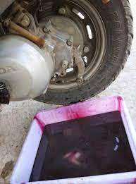 diy scooter engine transmission oil change img 20161126 093249 jpg