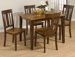 kura espresso and canyon gold five piece dining set by jofran