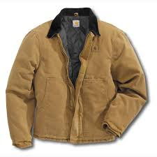Carhartt Sandstone Traditional Jacket / Arctic-Quilt Lined - J22 & Sandstone Traditional Arctic-Quilt Lined Jacket ... Adamdwight.com