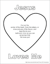 Jesus Loves Me Coloring Pages Printables Loves Me Coloring Pages