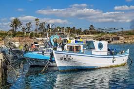boat, harbor, fishing shelter, sea, traditional, ormidhia, cyprus,  mediterranean, scenery, nautical vessel | Pxfuel