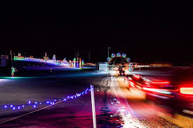 New Hampshire Speedway Holiday Lights