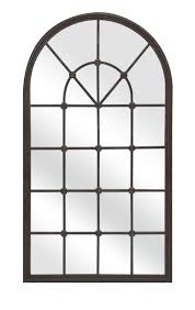 large arched mirror. IMAX-Barnett-Metal-Mirror Large Arched Mirror