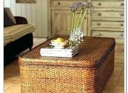 round wicker coffee table with storage wicker coffee table ottoman storage ottoman coffee table elegant round wicker coffee table with storage ottoman jesse