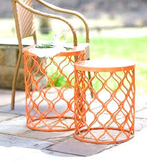 white patio side table patio side table outdoor patio side tables patio side table metal outdoor
