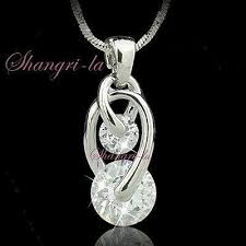 stamped 18k white gold plated hollow