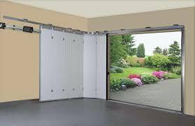 bifold garage door vertical
