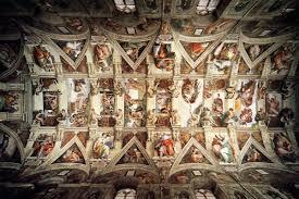 1280x1024 wallpaper michelangelo frescoes in the sistine chapel 1280 x 1024
