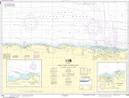 Puerto Rico Charts Noaa Nautical Chart 25668 North Coast Of Puerto Rico Punta Penon To Punta Vacia Talega Puerto Arecibo Puerto Palmas Altas