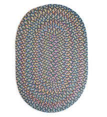fl garden round braided rug 8 marine multi