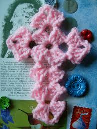 Crochet Decoration Patterns Cross Crochet Pattern I Thought I Had All The Cross Patterns Id
