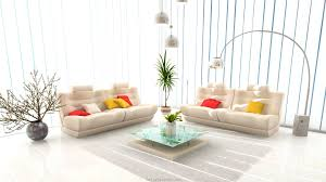 artistic furniture. Gorgeous Bright Living Room With Arch Stand Lamp And Artistic Furniture Design F