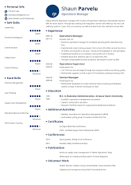 Operations Manager Resume Sample Writing Guide 20 Examples