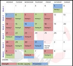 football soccer calendar for soccer conditioning drills and workouts