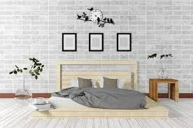 Simple White Bedroom Concept Design New Decoration