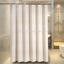 water proof shower curtain five star hotel use