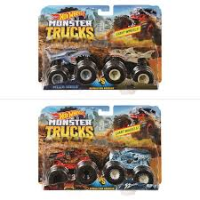 hot wheels monster truck 2 pack assorted