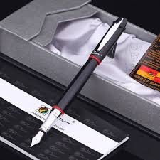 pico 1pcs 2017 new gift box founn pen 0 5mm metal golden ink pens office supplies for birthday friends gifts msia
