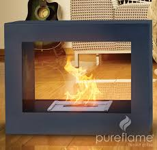 artificial flame fireplace ideas