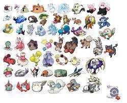 arts varios — All Alola pokedex made in this moment , I upload...