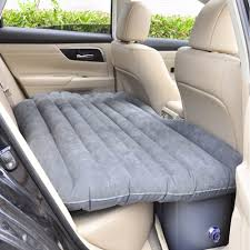 Backseat Inflatable Bed Universal Inflatable Car Air Mattress Bed Outdoor Camping Air Bed