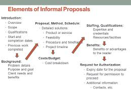 Informal Proposal Beauteous Proposals And Formal Reports Ppt Download