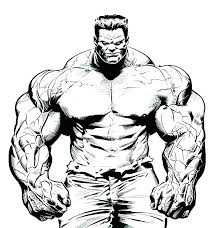 The Hulk Coloring Pages Printable Page 9 Pics Of Red Incredible Colo