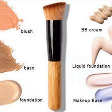 items for las 1pcs foundation blush makeup brush bb cream flat brushes cosmetic make up basic