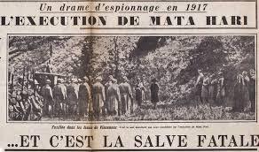 「Mata Hari persecuted」の画像検索結果
