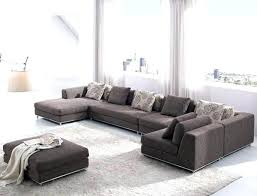 area rug with sectional how to place a under sofa what size for an