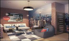 New York Style Bedroom Ideas New York Themed Bedroom Decor Photos And Video  Wall Color Designs