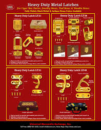 we make latch lock system for wood boxes door gate cabinet cigar