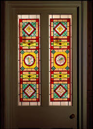 window stained glass and period