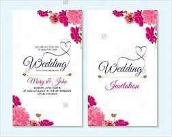 Wedding Card Design Template Theveliger